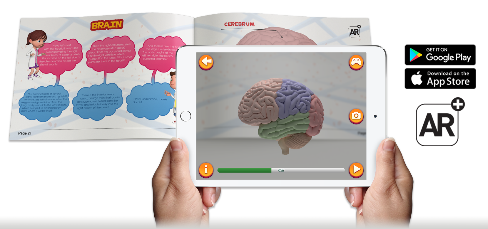 Imagina Books | Imagina Books - Educational Augmented Reality Books